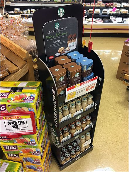 Starbucks Coffee Cross Sell To Bakery at Weis