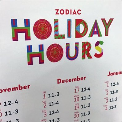 Zodiac Cafe Holiday Hours At Neiman Marcus