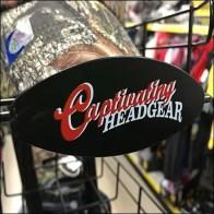 Captivating Headgear Tray Branding
