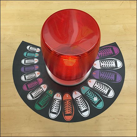 Children Shoe Size Floor Graphic Revisited