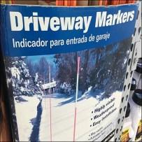 Driveway Markers Sold En Masse