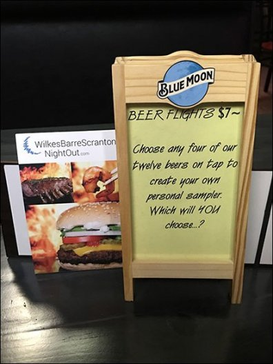 Deli Table-Top Menu Easel by Blue Moon