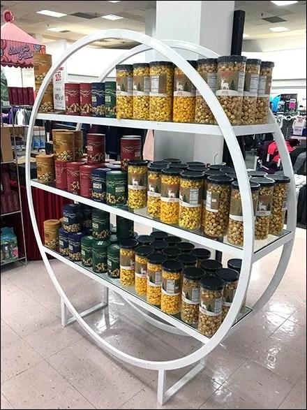 Gourmet Popcorn Hoop Rack Outfitting