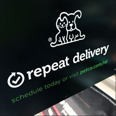 Organic Dog Food Repeat Delivery Feature