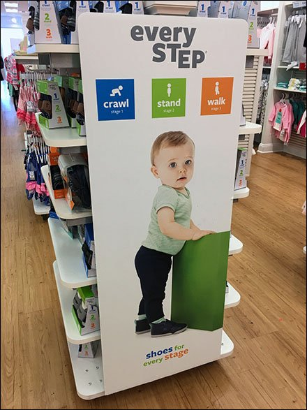 Shoes For Every Step Size Merchandising