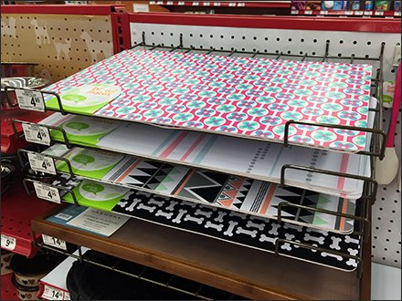 Placemats For Pets in Declined Display