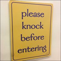 Please Knock Before Entering Feature