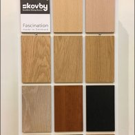 Skovby Asymmetric Catalog And Samples Stand