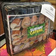 Subway Catering Subs-To-Go Food Props