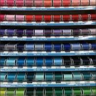 Thread Gravity Feed Acrylic Endcap Display 2