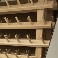 Thread Rack Self-Shipper Display at JoAnns
