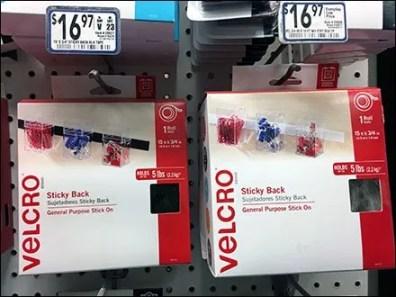 Velcro Fastening Center Branding at Lowes