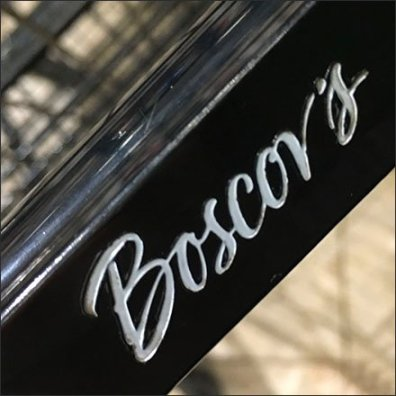 Boscov's Branded Shopping Cart Logo Feature