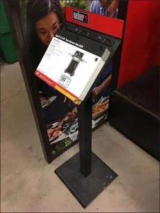 Branded Catalog Floorstand For Webber Grills 3