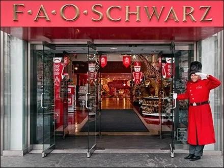 FAO Schwarz Retail Fixtures - FAO Schwarz Targets Airport Shops