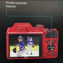 Digital Camera In-Line Display Billboarding