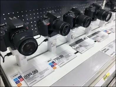 Slot-Mount Shelf-Top In-Line Camera Display