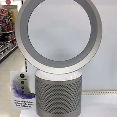 Dyson Cool Link Filter Fan Endcap Display