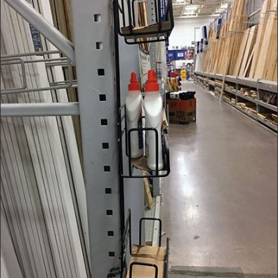 Pallet Rack Upright Cross Sell For Elmers Glue