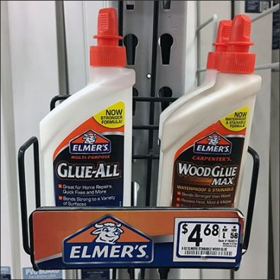 Elmers Glue Strip Merchandiser Square
