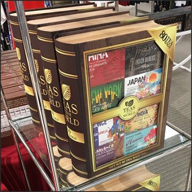 Encyclopedic Teas Of The World Presentation