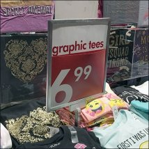 Graphic T-Shirts Mass Merchandised Feature