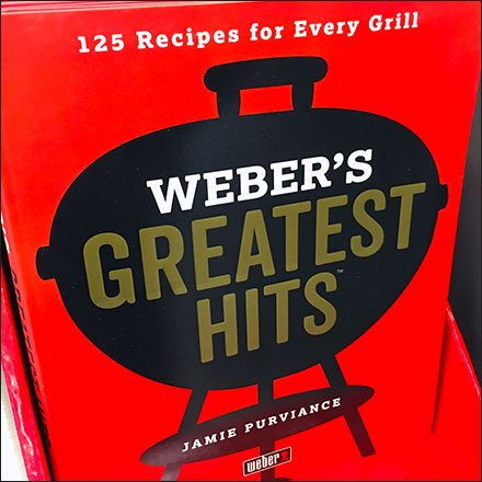Greatest Grilling Hits Recipe Book By Weber Feature