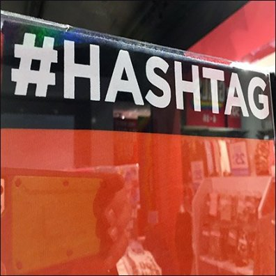 Hashtag T-Shirt Personalization Promotion
