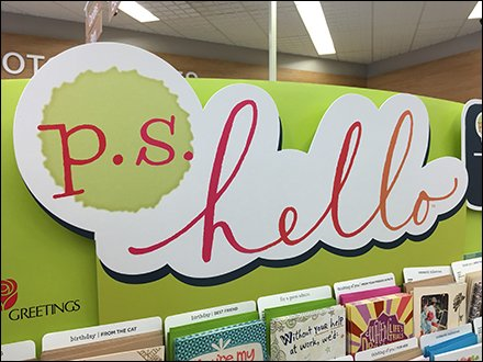 We Made A Greeting Card For That Shelf Flag