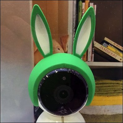 How to Camouflage a Nanny Cam Aux2