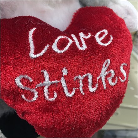 Love Stinks Skunk Strip Merchandiser Feature