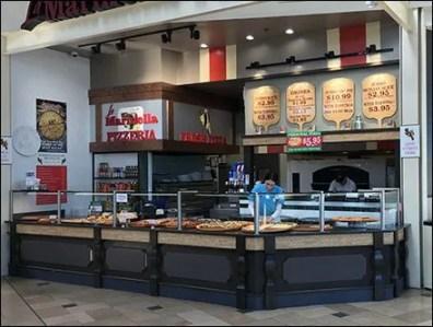 Pizza Peel Wood Signs at Marinella Pizzeria