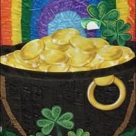 St. Patricks Day Pot of Gold Pinata