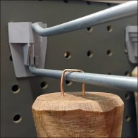 Staple As Tool Handle Pegboard Hook Mount Feature