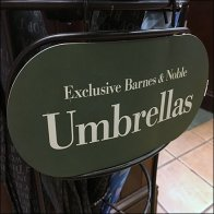 Barnes & Noble Exclusive Umbrella Rack