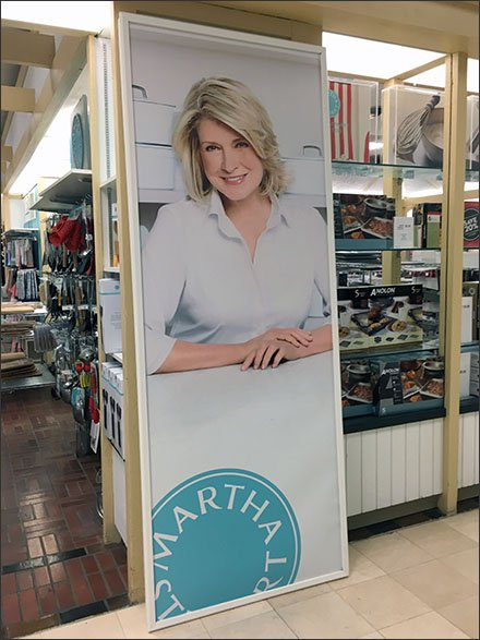 Martha Stewart Store Fixtures - Getting In On Branding At The Ground Level