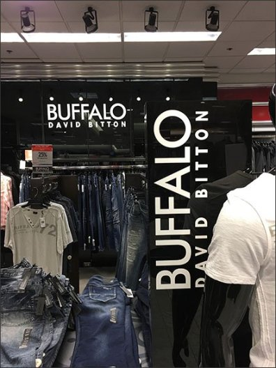 Department Branding For Buffalo David Bitton