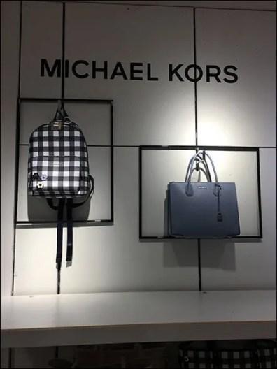 Michael Kors Branded Wall Framed