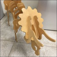 NAPC Plywood Layup Triceratops Feature