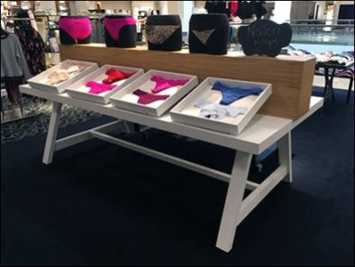 Tray Table Panty Display by Natori
