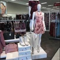 Grab-and-Go Shoe Display at Target