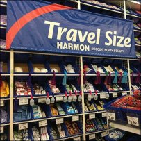 Travel Size Discount Health and Beauty Aids