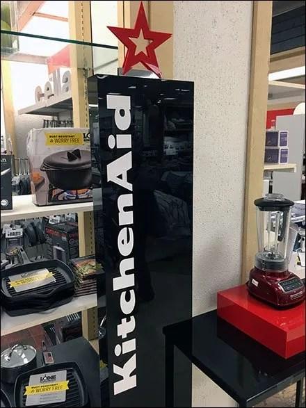 Macys All Star KitchenAid Appliance Display