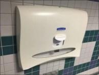 Auto Feed Toilet Seat Cover Dispenser