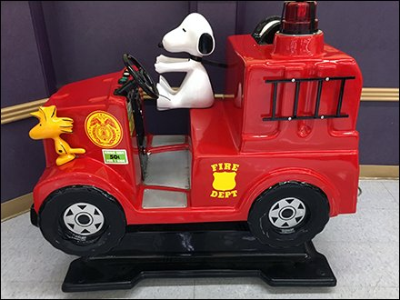 Woodstock and Snoopy Fight Fires at Babies R Us