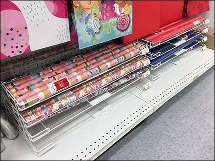 Base Deck Rack Lies Flat for Gift Wrap