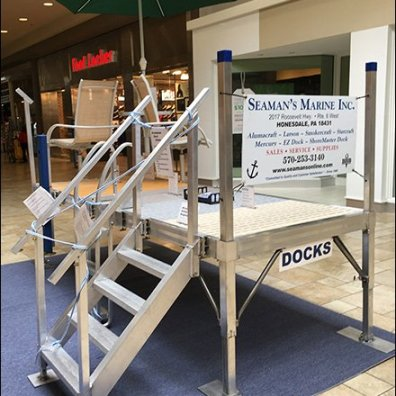 Boat Dock Sales On The Mall Concourse
