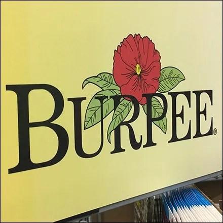 Burpee Seed Merchandising Display - Burpee Seeds Twin Spinner Endcap Towers
