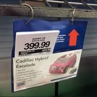 Cadillac Escalade Shopping by Pick Card