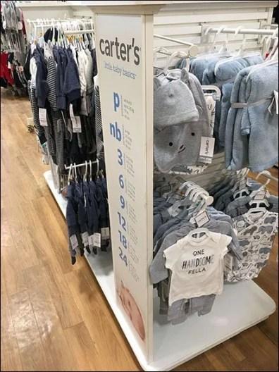 Carters Little Baby Basics Size Chart